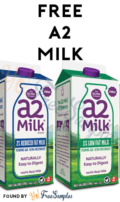 FREE A2 Milk (Mom Ambassador Membership Required)