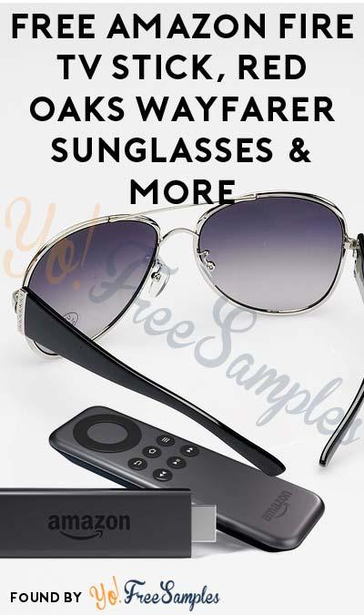 FREE Amazon Fire TV Stick, Red Oaks Wayfarer Sunglasses & More (Apply To HouseParty.com)