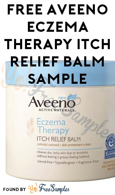 FREE Aveeno Eczema Therapy Itch Relief Balm Sample (Must Apply With Crowdtap)