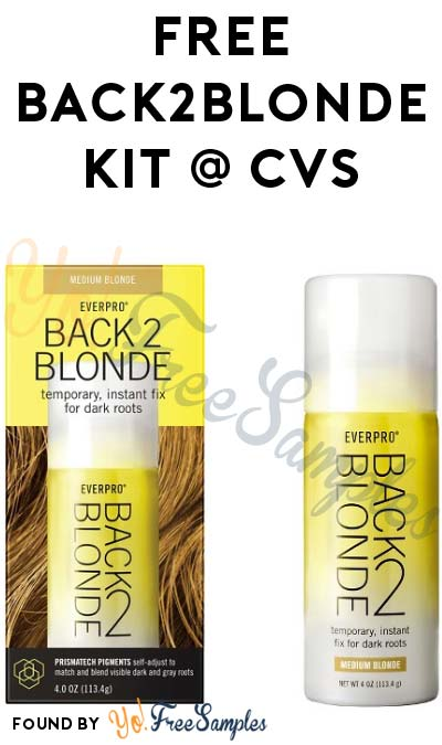FREE Back2Blonde Kit At CVS (Ibotta Required)