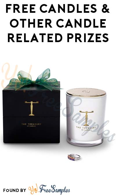FREE Candles & Other Candle Related Prizes For Referring Friends (Email Confirmation Required)