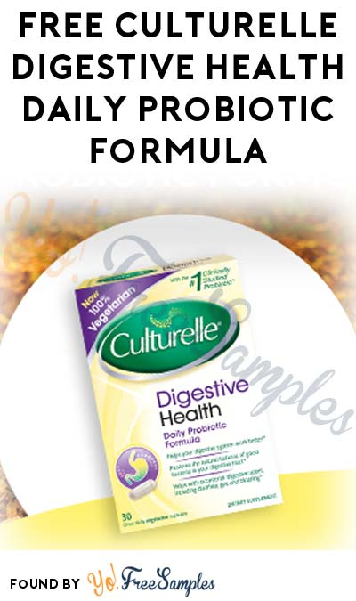 FREE Culturelle Digestive Health Daily Probiotic Formula