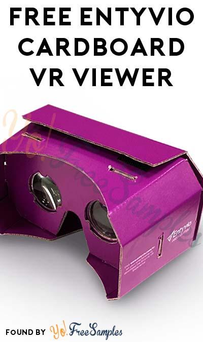 FREE ENTYVIO Cardboard Virtual Reality Viewer