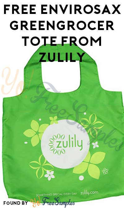 FREE Envirosax Greengrocer Tote From Zulily (New Accounts Only) [Verified Received By Mail]