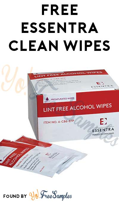 FREE Essentra Clean Wipes