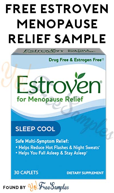FREE Estroven Menopause Relief Sample (First 500)