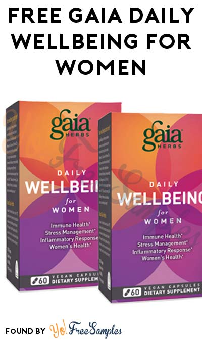 FREE Gaia Daily WellBeing for Women (Mom Ambassador Membership Required)