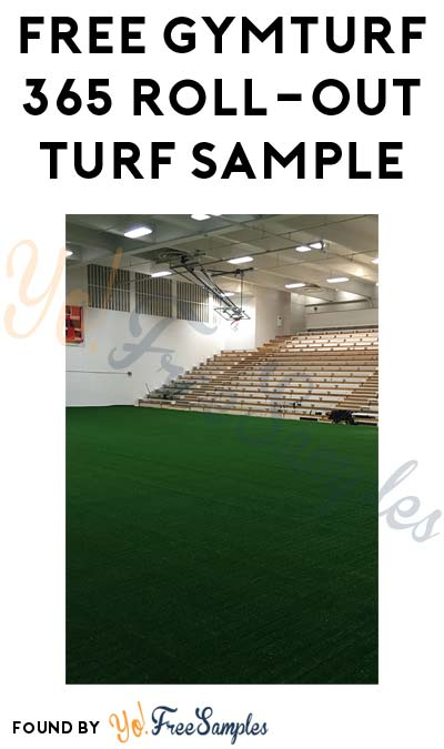 FREE GymTurf 365 Roll-Out Turf Sample (Email Confirmation Required)