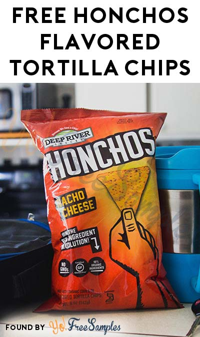 FREE Honchos Organic Flavored Tortilla Chips (Mom Ambassador Membership Required)
