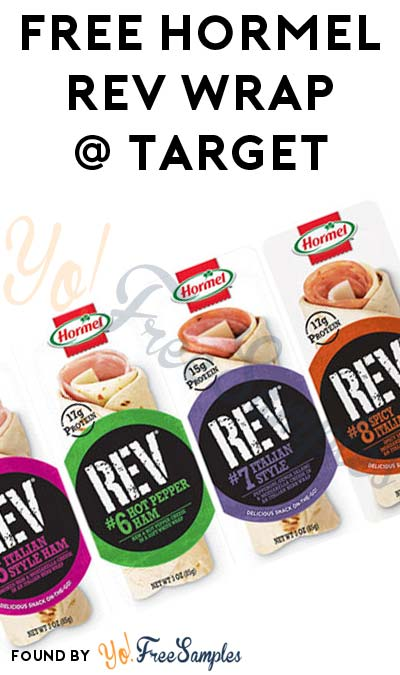 FREE Hormel REV Wrap At Target (Coupons & Checkout51 & Ibotta Required)