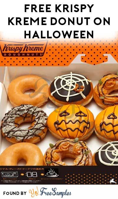 FREE Krispy Kreme Donut On Halloween