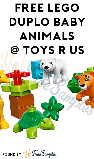 FREE LEGO DUPLO Baby Animals From Toys R Us After Cashback (New TopCashBack Members Only)