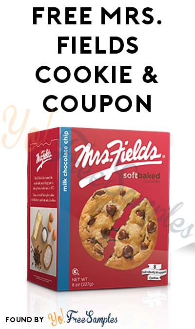 FREE Mrs. Fields Cookie & Coupon For Sharing Who Is Your Hero