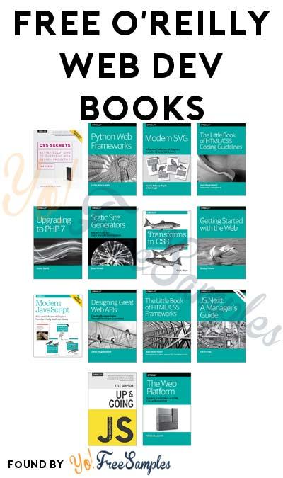 FREE O'Reilly Web Development Books