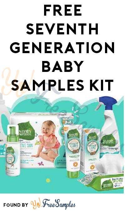 FREE Seventh Generation Baby Samples Kit (Account Required)
