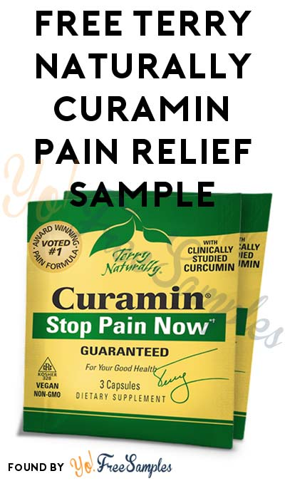 FREE Terry Naturally Curamin Pain Relief Sample [Verified Received By Mail]