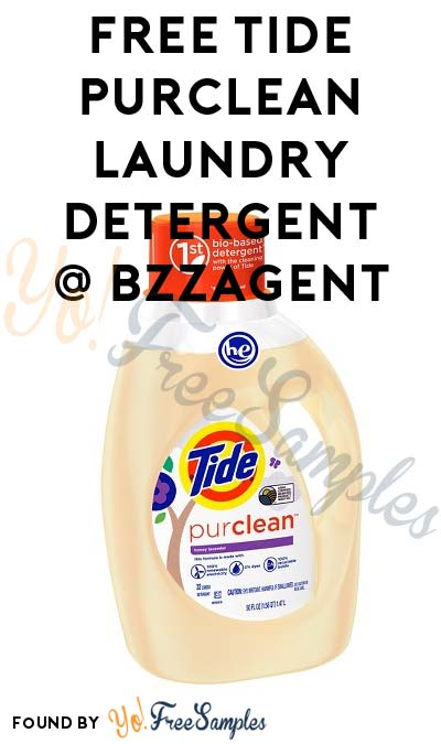Possible FREE Tide PurClean Liquid Laundry Detergent From BzzAgent