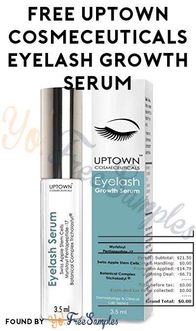 FREE Uptown Cosmeceuticals Eyelash Growth Serum On Amazon [Verified Received By Mail]