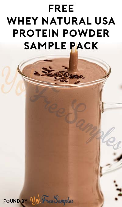 FREE Whey Natural USA Protein Powder Individual Sample [Verified Received By Mail]