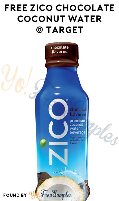 FREE Zico Chocolate Coconut Water At Target (Ibotta Required)