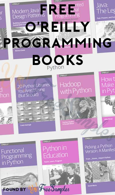 FREE O'Reilly Programming Books