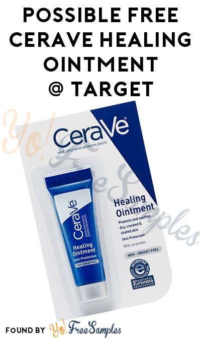 Possible FREE CeraVe Healing Ointment At Target