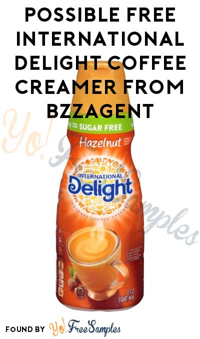 Possible FREE International Delight Coffee Creamer From BzzAgent