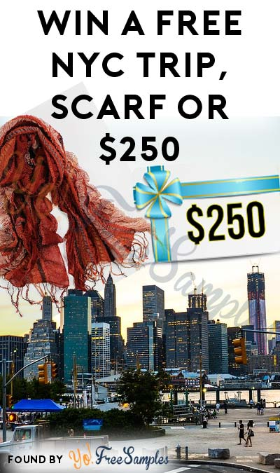 Enter Daily: Win A FREE Pashmina Scarf, $250 Supercertificate or NYC Getaway From Virginia Slims Style Spree Daily Instant Win Game [Verified Received By Mail]