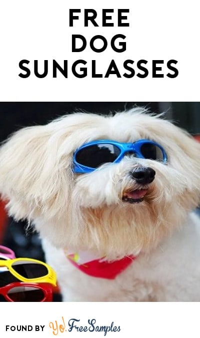 FREE Dog Sunglasses From PetDeals.org