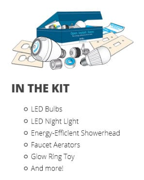 11 FREE Energy Saving Products Kits from Your Utility Company (Select States Only)