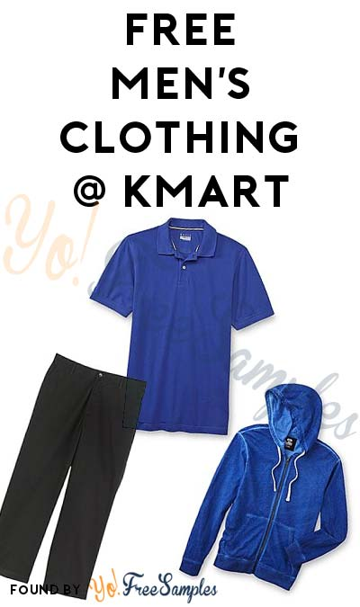 $50 In FREE Men's Clothing After Kmart Cashback