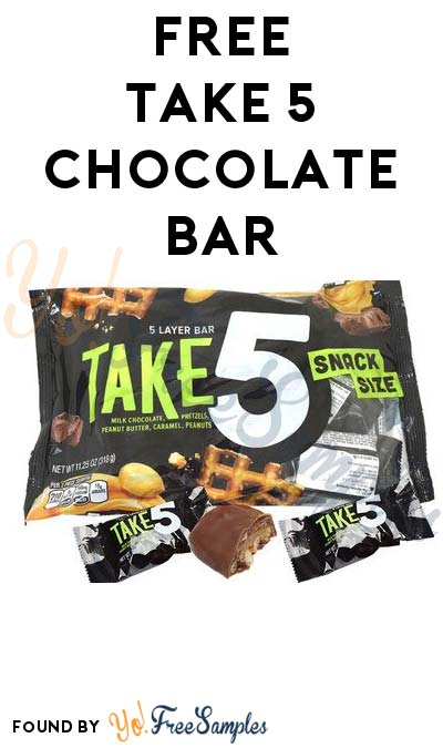 FREE Take 5 Chocolate Bar (Mobile Only) [Verified Received By Mail]