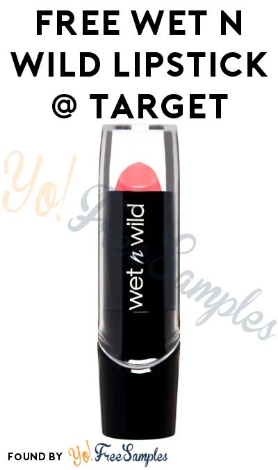 FREE Wet N Wild Silk Finish Lipstick At Target (Coupons Required)