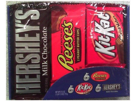 full sized candy bars