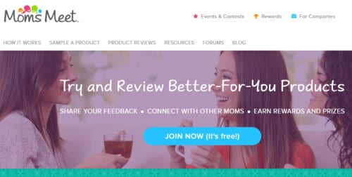 Free sample product testing for moms