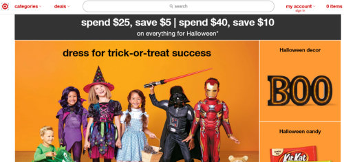 Halloween Candy Sales