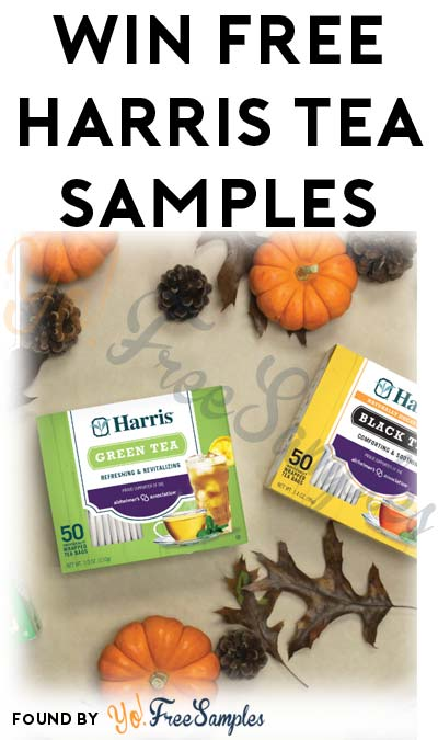 Win FREE Harris Tea Samples (Facebook Required / Not Mobile Friendly)