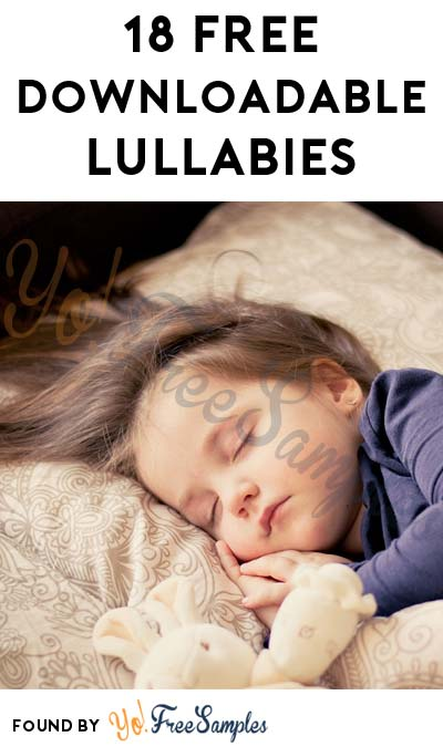 18 FREE Downloadable Lullabies