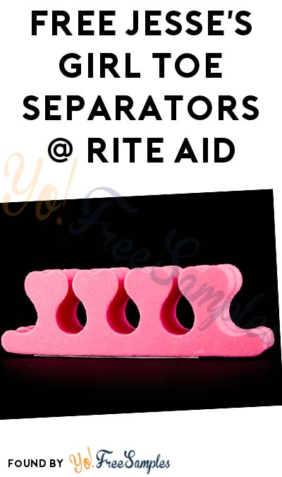 2 FREE Jesse's Girl Toe Separators At Rite Aid