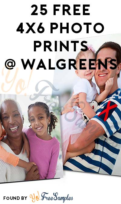 25 FREE 4×6 Photo Prints At Walgreens For Creating New Account