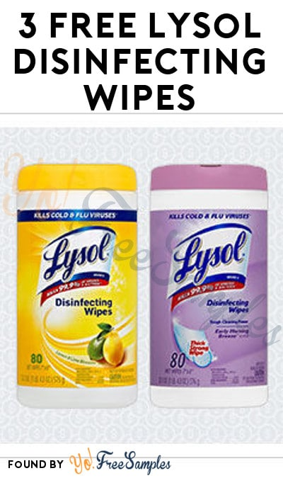 3 FREE Lysol Disinfecting Wipes From Office Depot or Office Max (Free After Cashback)