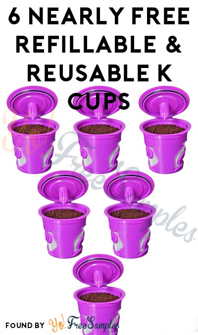 6 Nearly FREE FROZ-CUP 2.0 Refillable & Reusable K Cups for Keurig 2.0 ($1 With Prime) At Amazon [Verified Received By Mail]