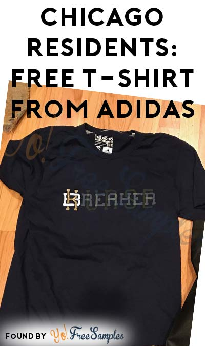 Chicago Residents: FREE T-Shirt From Adidas from GoFooji (Twitter Required)