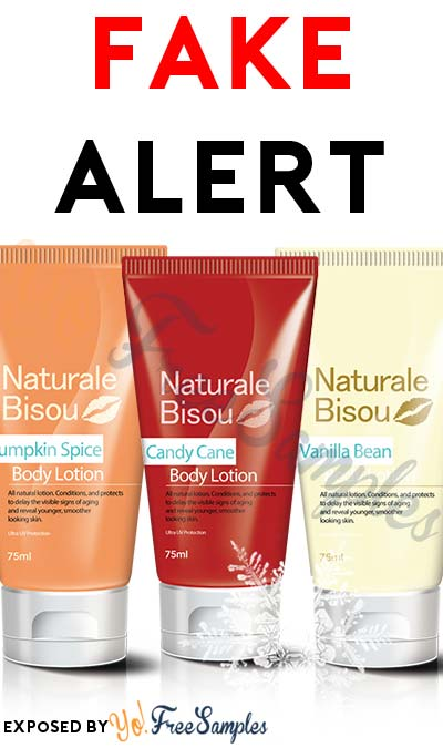 FAKE ALERT: FREE Naturale Bisou Body Lotion