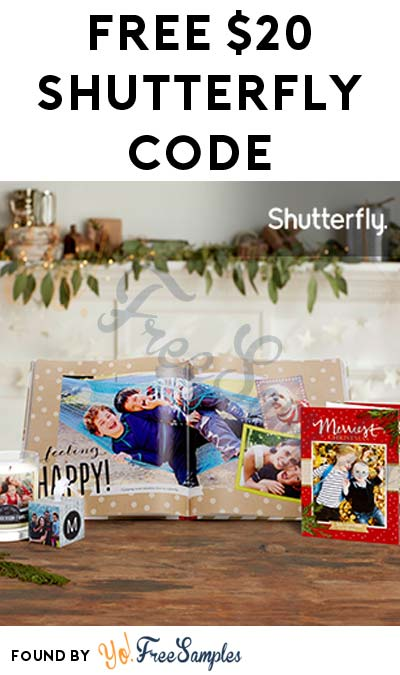 ENDS TODAY: FREE $20 Shutterfly Code From My Coke Rewards
