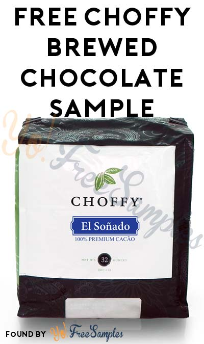 FREE Choffy Brewed Chocolate Sample [Verified Received By Mail]