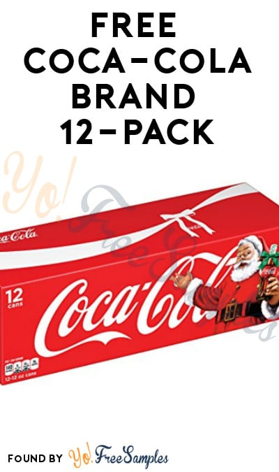 New Link: FREE Coca-Cola Brand 12-Pack For 30 Points From My Coke Rewards