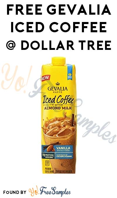 FREE Gevalia Iced Coffee At Dollar Tree (Coupon Required)