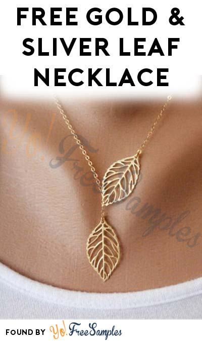 FREE Sliver Leaf Necklace With Free Shipping From China