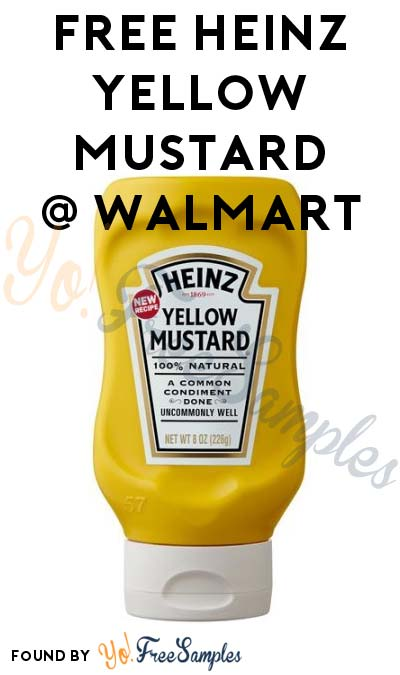 FREE Heinz Yellow Mustard At Walmart (Coupon & Checkout51 Required)